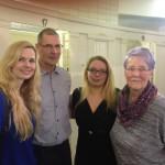 von links: Britta Stefen, Andreas Hahn, Kathleen Hirschnitz, Karin Harzer