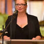 Kathleen Hirschnitz (Erste Vorsitzende Förderverein Zukunft Stadtbad Halle) Foto: Ralf Lehmann