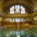 die Männerhalle des historischen Bades in Strasbourg