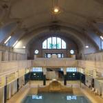 die Frauenhalle des historischen Bades in Strasbourg