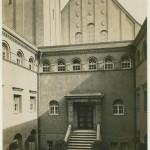 Hof nach fertigstellung 1916. Foto: Stadtarchiv Halle