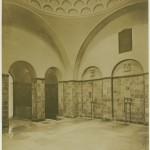 Irisch-römisches Dampfbad, Duschbereich, 1916. Foto: Stadtarchiv Halle