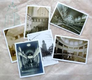 Historische Motive, 6 Postkarten