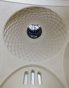 Kuppel der SAUNA. Foto: UWE GAASCH (2012)
